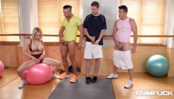 Desirable girl gets a doggy position drilling